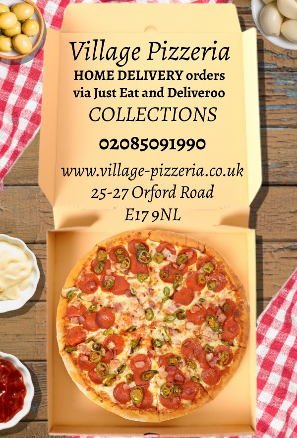 Copy of Pizza Home Delivery Food Template - Made with PosterMyWall